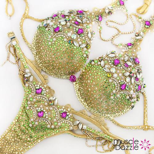 Gold Diva Bikini Suit (DV011)