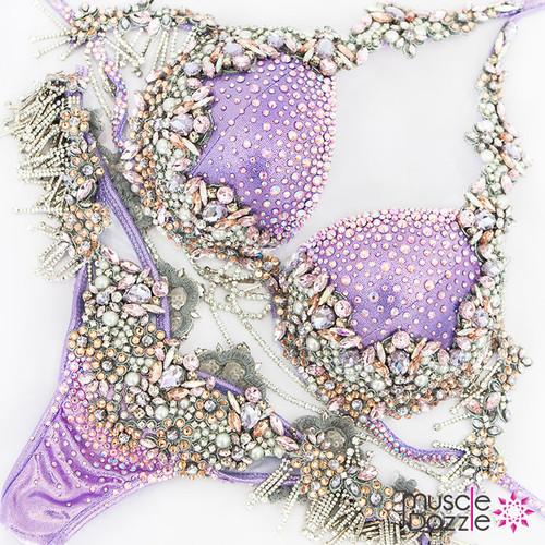 Light Purple Bikini Diva Suit (DV024)