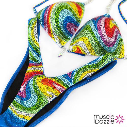 Rainbow Figure Suit (FS390)