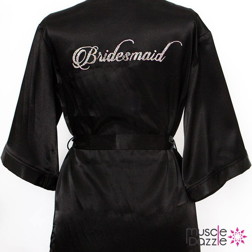 Personalized Bridesmaid's Robe (RB004)