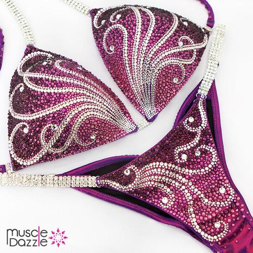 Purple Competition Bikini (CB534)