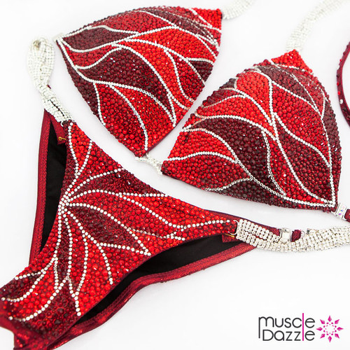 Red Competition Bikini Suit (CB511)