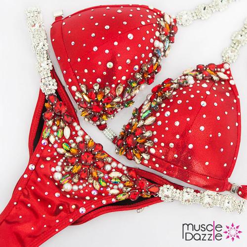 Red Competition Bikini (CB589)