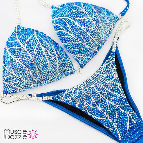 Swarovski Blue Competition Bikini (CB492SW)