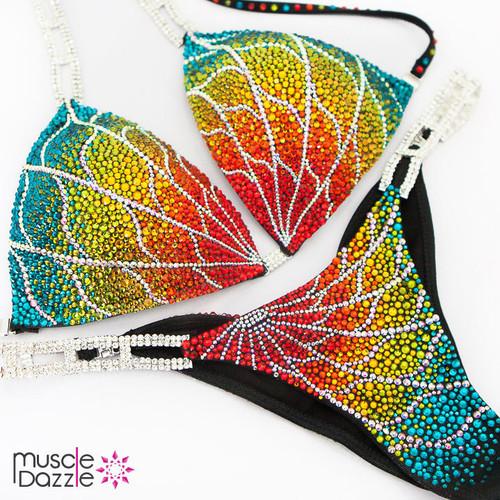 Swarovski Crystal Competition Bikini (CB535SW)