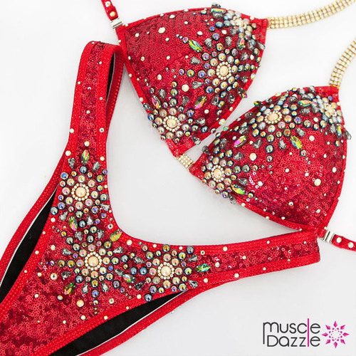 Ready Made Red Firework Figure Suit (FS485RM)