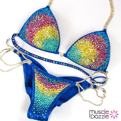 Crystal Bikini Competition Suit