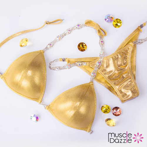 Gold Competition Bikini (Gold01)