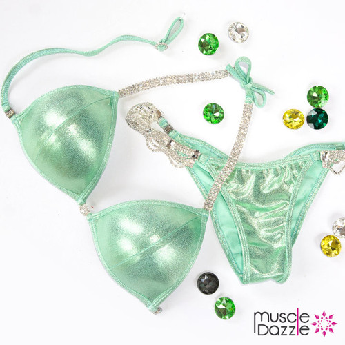 Mint Green Competition Bikini (G20)