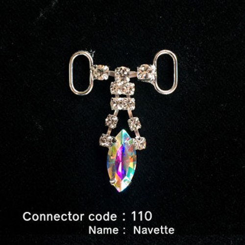 Middle Connector for Bikini Top - Navette Style (110)