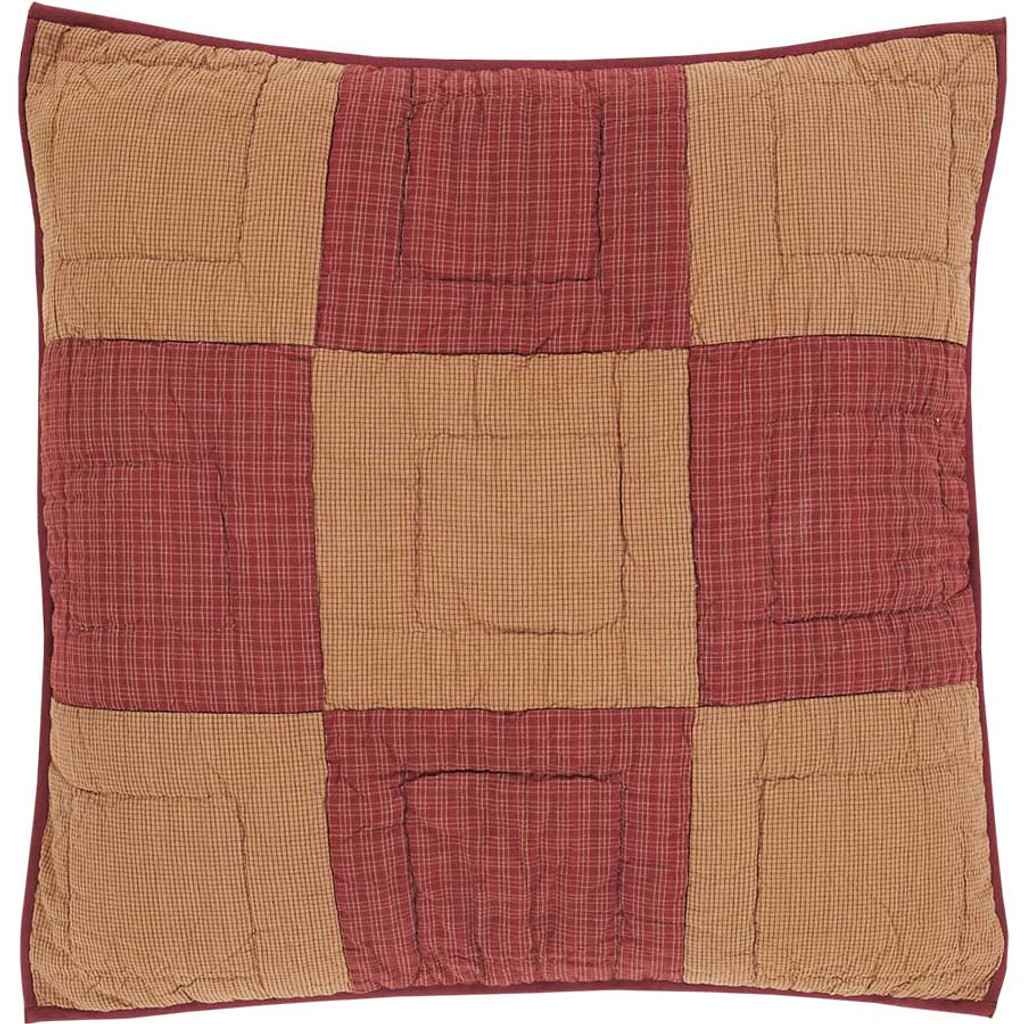 Quilted Euro Sham