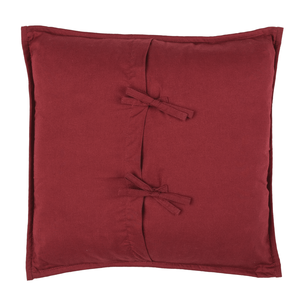 Ninepatch Toss Pillow Reverse