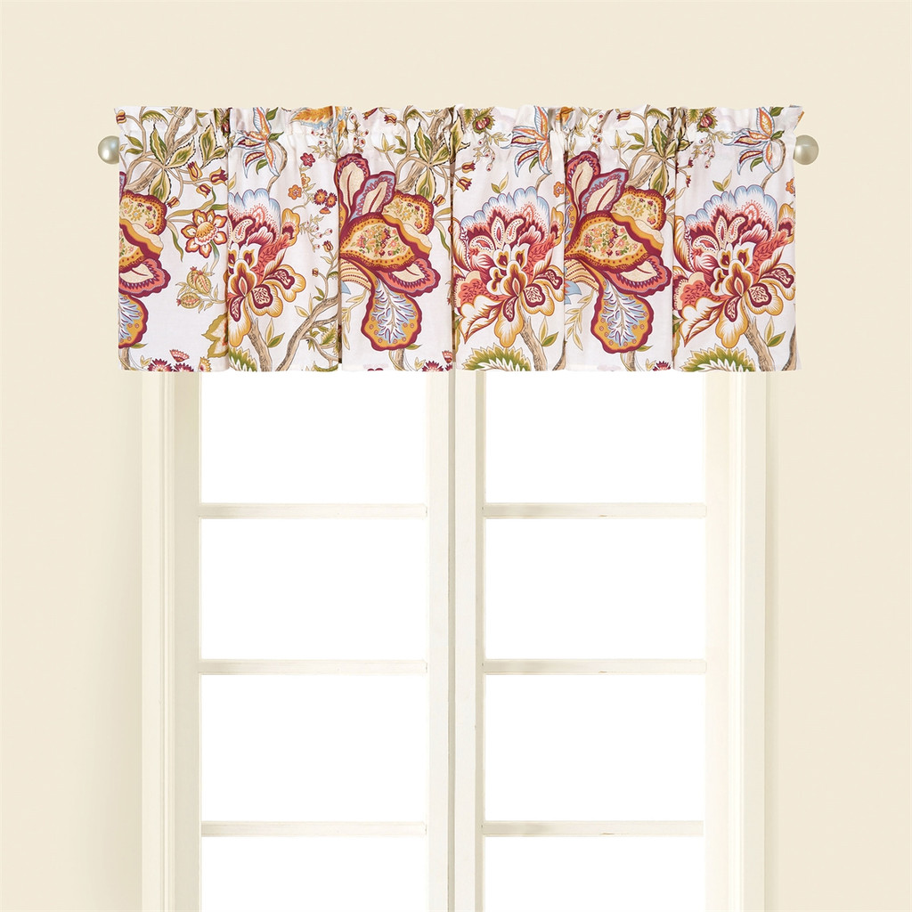 Bethany Floral Cotton Valance