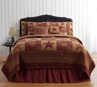 Ninepatch Star Cotton Quilt