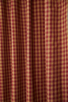 Close up of drapery panel
