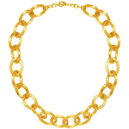 """Karine Sultan Chunky Cable Chain Necklace - 15"""" L"""