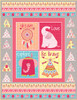 Boho Baby Quilt #1 - Pink
