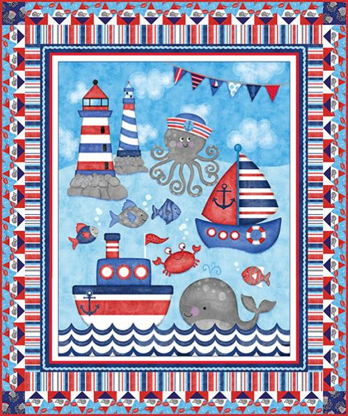 Anchor's Away Quilt #1