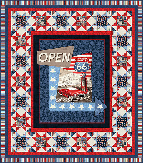 All American Road Trip Quilt #1