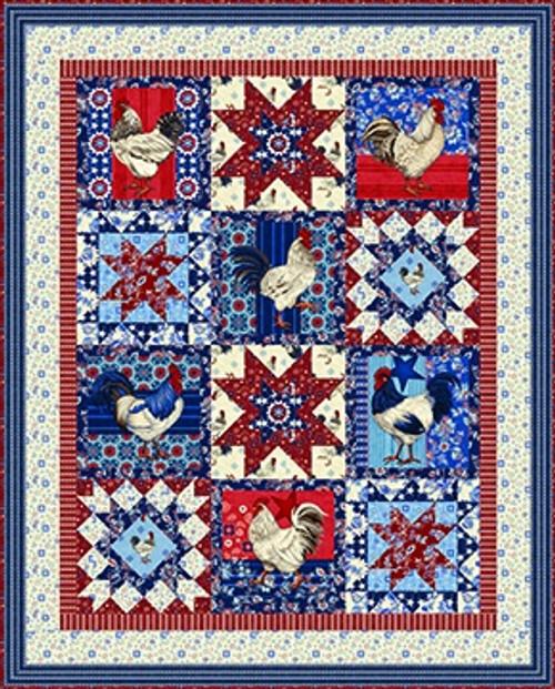 American Folk Quilt #1