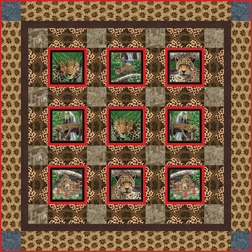 On The Wild Side Quilt #2