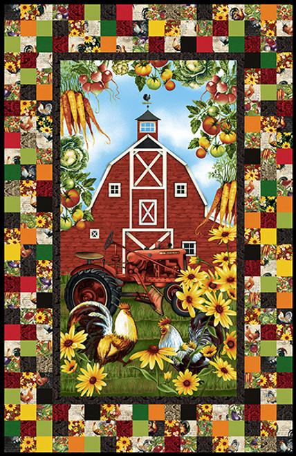 Farmer's Market Quilt #1