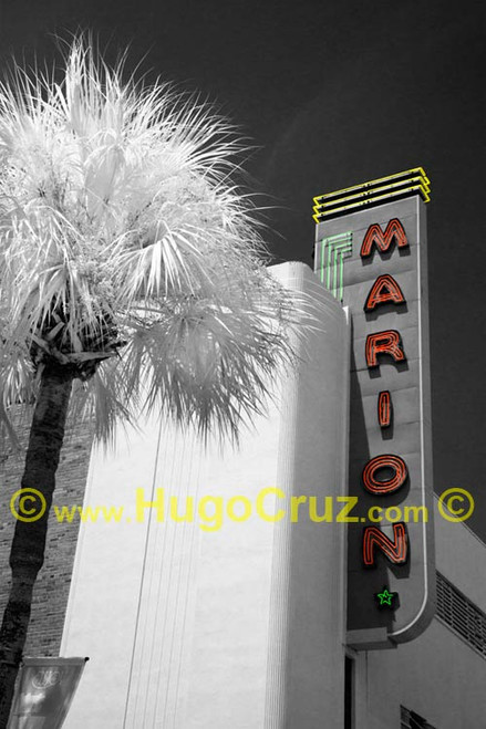 """""""Marion Theater"""" ● Infrared Photography"""
