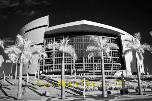 """American Airlines Arena"" ● Infrared Photography"