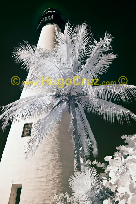 """Cape Florida Lighthouse"" ● Infrared Photography"