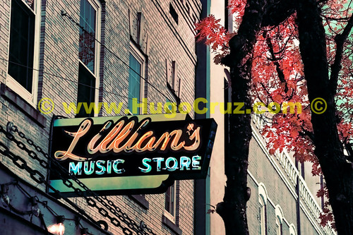 """Lillian's"" - Infrared Art Photography"