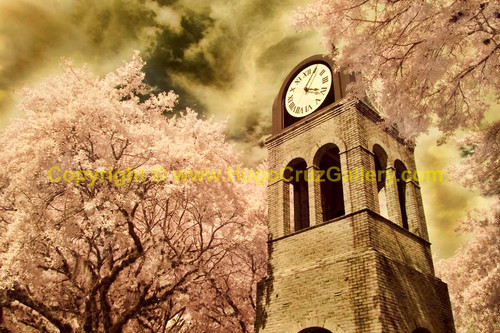 """""""The Clock Tower"""" ● Infrared Photography"""