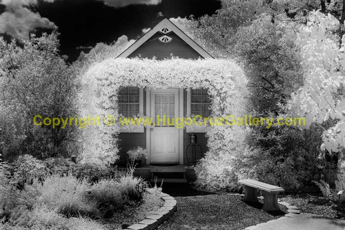 """""""Enchanted Cottage"""" ● Infrared Photography"""