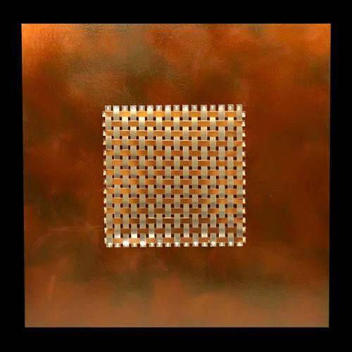 """""""Quadratic Elemental Weave"""" ● Metal Art ● (SOLD)"""