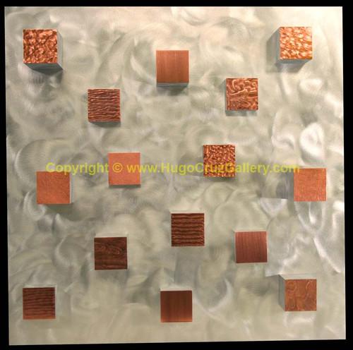 """Titian Towers"" ● Metal Art ● [(SOLD)"