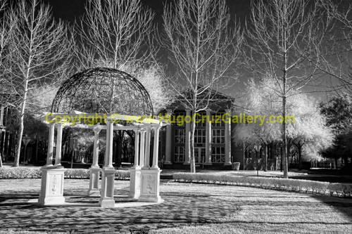 """Gazebo at Haile"" ● Infrared Photography"