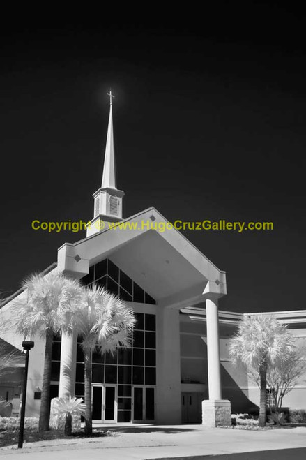 """Westside Baptist Church"" ● Infrared Photography"