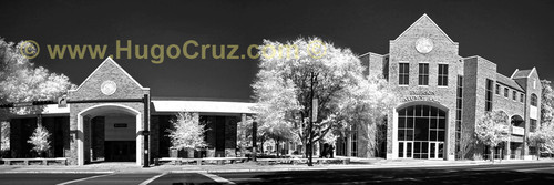 """Emerson Alumni Hall"" Panoramic - Infrared Photography"