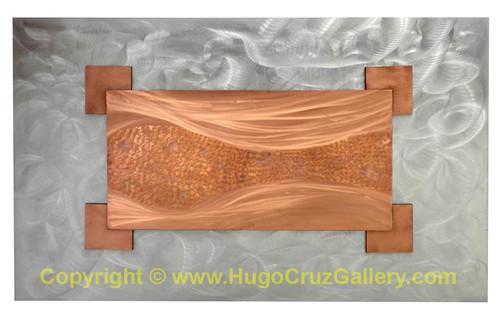 """""""Fluidity"""" ● Metal Art ● (SOLD)"""