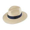 Oporto Trilby Panama, shown in Navy