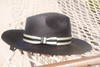 Ladies Large Brim Trilby - shown in Black
