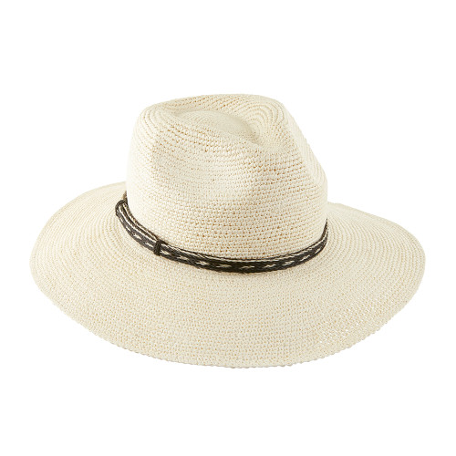 Ladies Crochet Trilby panama