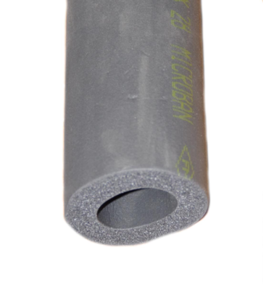 Black Armaflex Rubber Pipe Insulation Lagging 13mm Wall