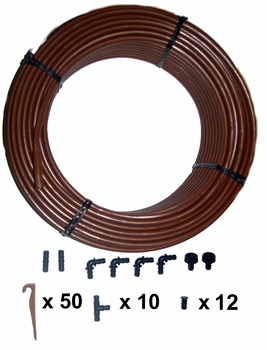 100mtr Drip Line Watering Kit