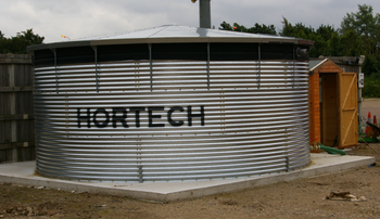 Water Storage Tank & Pump Shed