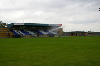 Pop-up Sprinkler around Perimeter of Football Pitch