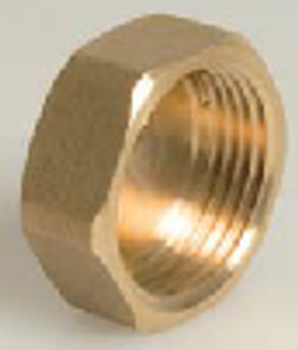 Brass Threaded Cap