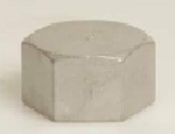 Stainless Steel 316 Threaded Cap