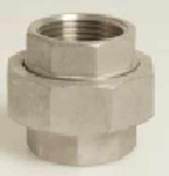 Stainless Steel 316 Threaded Union