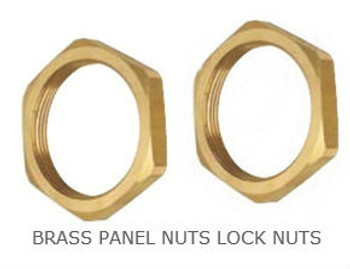 "1/2"" Brass Back Nut"