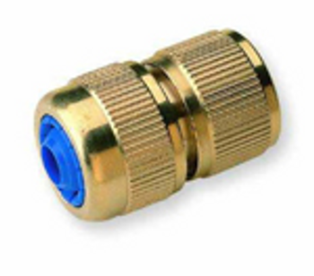 Hoselock type hose x brass quick connecter